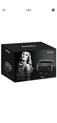 Babyliss Thermo-Ceramic Rollers Curlers Roller Set Black High Heat-3045U