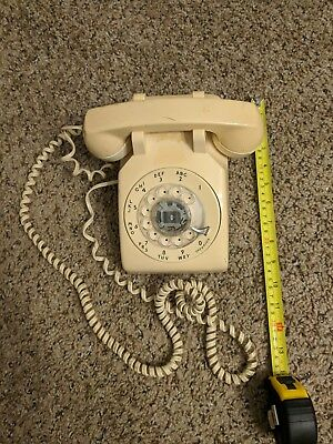 Vintage Bell System Rotary Desk Phone Western Electric  500 DM