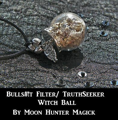 Bulls#!t Filter© Truth Seeker Spell Witch Ball Truth Spell Witch Bottle Ritual