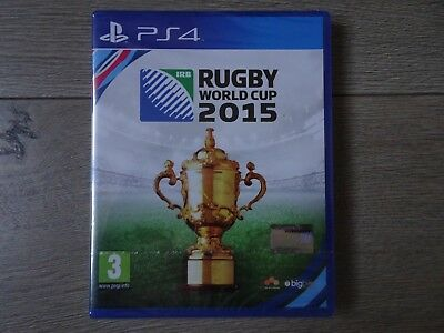 RUGBY WORLD CUP 2012 sur PS4 NEUF (Sous Blister Officiel) VERSION FRANCAISE !!!