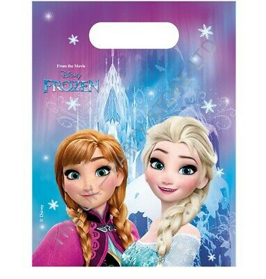 DISNEY FROZEN PARTY LOOT BAGS Birthday Party Supplies Gift Pack Favour Girl Kids