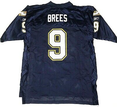 reputable site 31919 3a3b0 DREW BREES JERSEY San Diego Chargers 9 NFL Sports Armpit ...