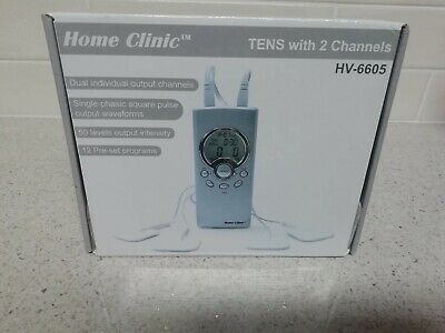 Home Clinic Tens Machine with 2 Channels