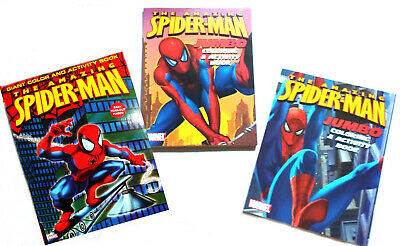 Amazing Spiderman Coloring Activity Book Set 384 Pg 11 99