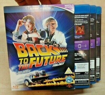 Back to the Future Trilogy (Blu-ray Disc, 2013, 3-Disc Set, Includes Digital Cop
