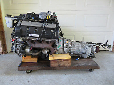 2010 ford mustang shelby GT500 5.4 supercharged engine & 6spd transmission
