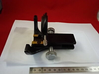 Sauvage Heerbrugg Suisse M20 Laiton Condenseur Support Microscope Lourd Pièce