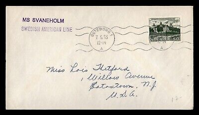 Dr Who 1963 Sweden Ms Svaneholm Paquebot Swedish American Line C86168