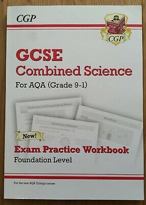 New Grade 9-1 GCSE Combined Science: AQA Exam Practice Workbook - Foundation