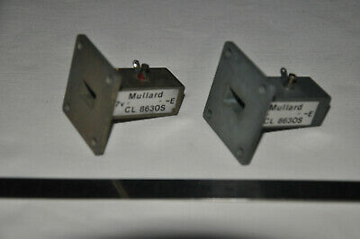 2  pces, Microwave Gunn oscillator / detector 10.5 Ghz, used for doppler radar