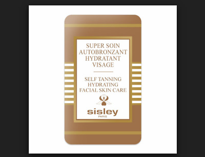 Sisley SELF TANNING HYDRATING BODY SKIN CARE flawlessly tanned moisturized 8ml