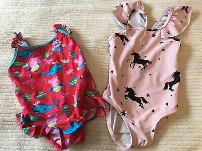 Next And Nutmeg Girls Swimsuit Bundle Size 18-24 Months
