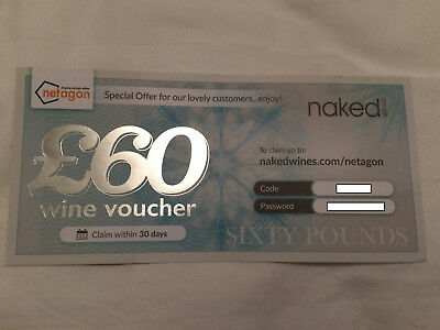 'Naked Wines' £60 Voucher