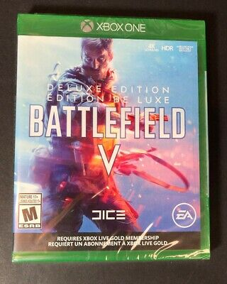 Battlefield V [ DELUXE Edition ] (XBOX ONE) NEW