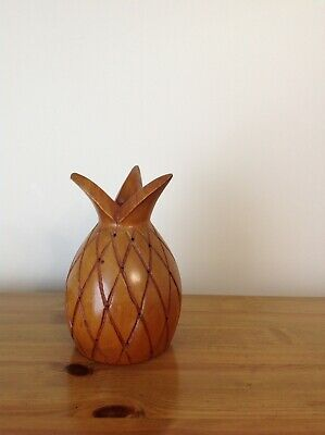 Vintage Wooden Pineapple Treen