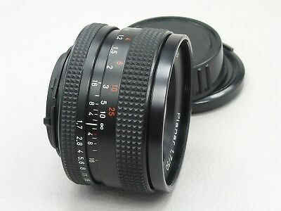 Zeiss Planar T* Lens 50mm f/1.7 Contax Yashica | MINT 814