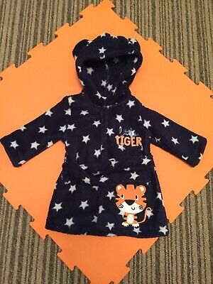 Baby Boys Dressing Gown Size 3-6 Months