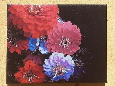 Flowers Mounted Canvas Art Print Limited Edition Wall decor