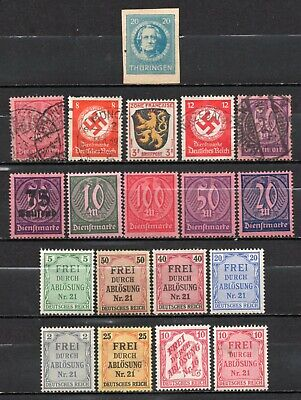 Germany very nice mixed era mixed collection,stamps as per scan(6679)