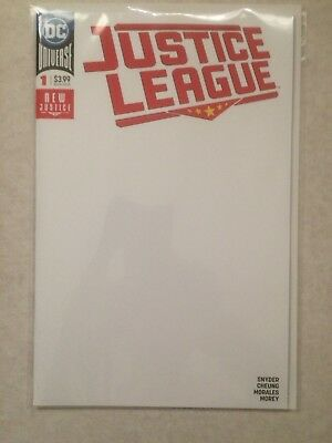 Justice League #1 (2018) Blank Variant NM