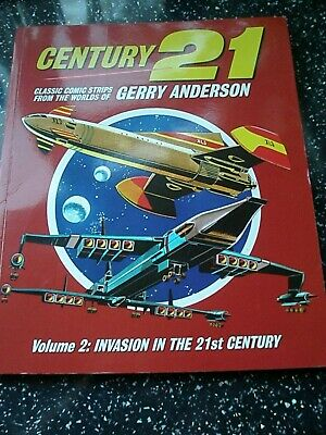Gerry Anderson - Century 21 Comic Strips   Volume 2 Paperback Book 9781905287949