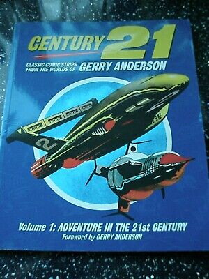 Gerry Anderson - Century 21 Comic Strips  - Volume 1 Paperback Book 978095665342