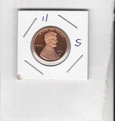 2011 S Lincoln Shield Cent Gem Deep Cameo PROOF Penny US Mint Coin Beautiful!