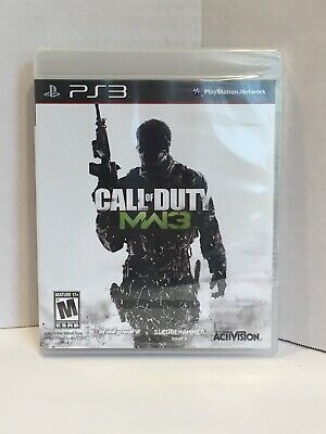 PS3 Call of Duty: Modern Warfare 3 MW3 Sony Activision. Brand new. Sealed.