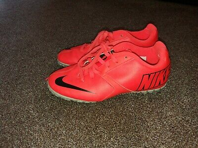Boys Nike Bombs Turf Football Boots/trainers Size 1(33)