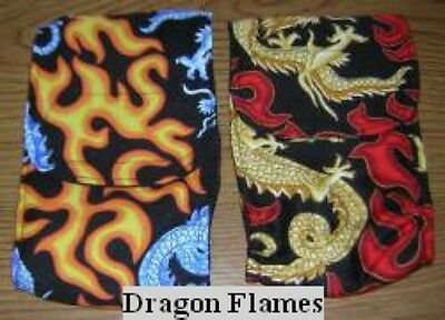 Dragon Flames 2 Belly Band  Maltese Chihuahua Italian Greyhound Dog Diapers