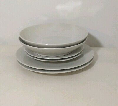 M&S Marks And Spencer Andante 2 place setting dinner plate side pasta Bowl