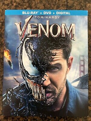 Venom Blu-ray + DVD + Digital Movie 2018