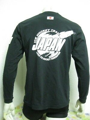 Ancien MAILLOT T-SHIRT JAPAN ICE HOCKEY FEDERATION TEAM 2009 WOMEN U18 sur Glace
