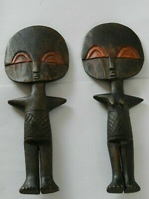 Tribal Art Fertility Paddles Depicting Boy & Girl