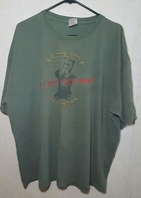620c32c19 Monty Python The Holy Grail T-Shirt It's Just a Flesh Wound Green Size 2X