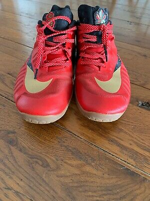 c1f47fa43ad NIKE HYPERLIVE PROMO EYBL Basketball Low Shoe Yellow RARE 849308-706 ...