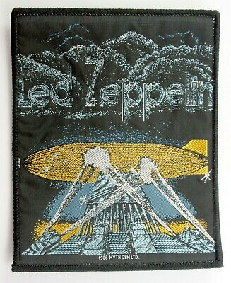 LED ZEPPELIN 'Searchlights' Vintage Sew-on Woven Patch