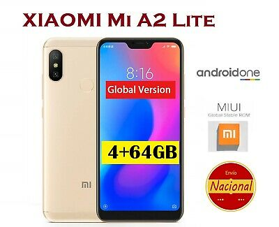 "4+64GB XIAOMI Mi A2 Lite Global Version Android One 5,84"" Notch Movil Español"