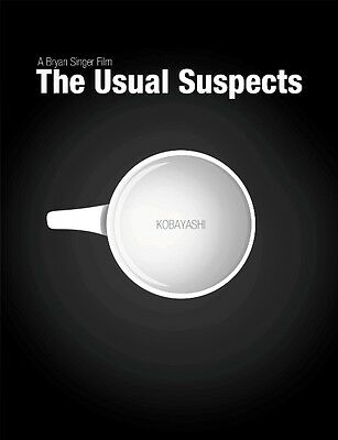 Affiche J'ai Suspects Habituels The Usual Kevin Spacey Cinéma #2