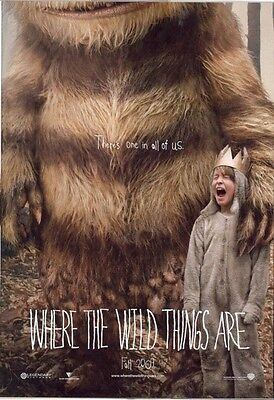 Affiches Where The Wild Things Are Spike Jonze Fantasy