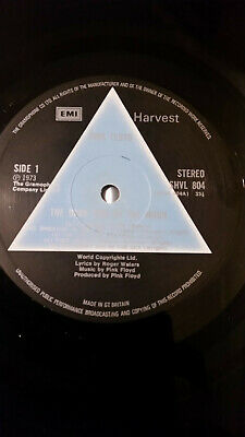 rare solid blue prism pink floyd dark side of the moon 1973 crossover