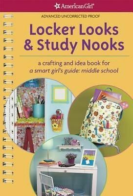 📚American Girl Book: Locker Looks & Study Nooks: A Crafting and Idea Book