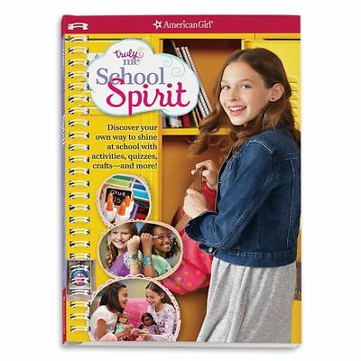 ✨American Girl Truly Me:School Spirit:Discover Your Student Style: Activities++✨