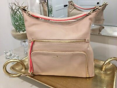 c642460f9294ce NWT Authentic Kate Spade New York Cobble Hill Lizzie Pressed Powder Leather  bag