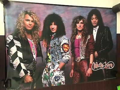 23X34 Vintage '88 Rare Poster White Lion Glam Metal Rock Roll Band Mike Tramp B8
