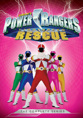 Power Rangers: Lightspeed Rescue - Complete Series (DVD Used Very Good)