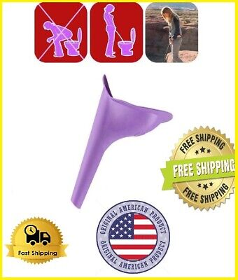 Women Female Portable Urinal Outdoor Travel Stand Up Pee Urination Device Case