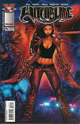 Witchblade # 75 Gold Foil Dynamic Forces WitchBlade Cover DF # 6 of 500 COA