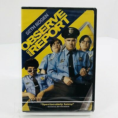 New Observe and Report (DVD, 2009) Widescreen Full Screen