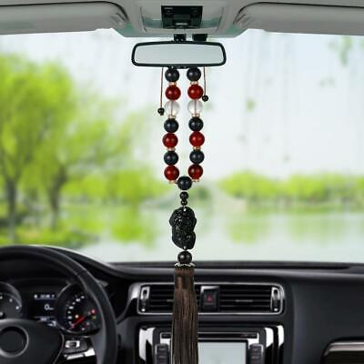 Buddha Beads Car Ornaments Auto Interior Brave Troops Rearview